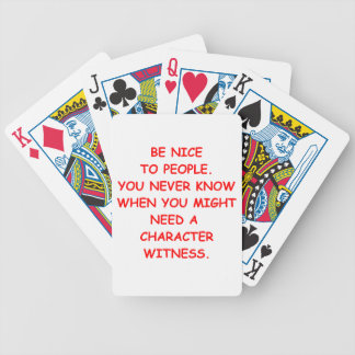 nice bicycle playing cards