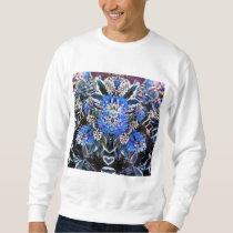 Nice & blue crewneck sweatshirt