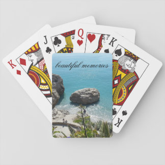 Nice bluewater trendy  beautiful memories card playing cards