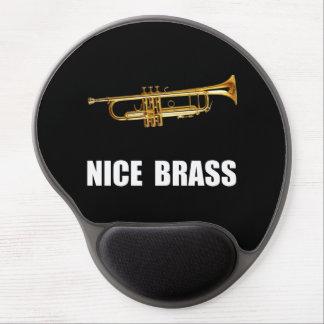 Nice Brass Trumpet Gel Mouse Pad