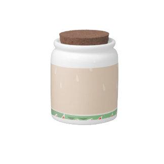 Nice Buns Candy Jars