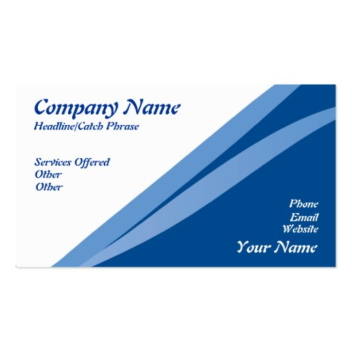 Nice Business card