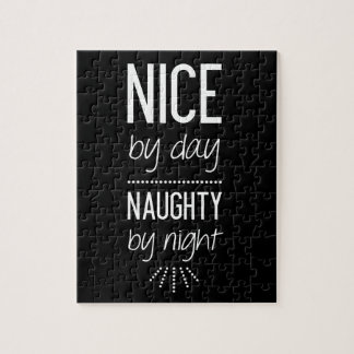 Nice By Day Naughty By Night Jigsaw Puzzle
