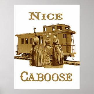 Nice Caboose Print