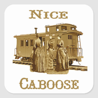 Nice Caboose Stickers