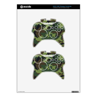 Nice Camouflage Design Xbox 360 Controller Skin