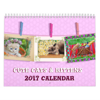 Nice Cats and kittens Calendar