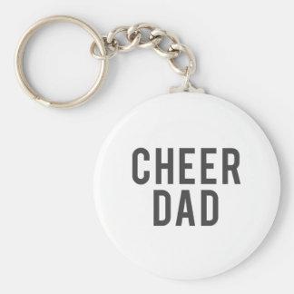 Nice Cheer Dad Print Keychain
