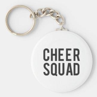 Nice Cheer Squad Print Keychain