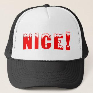 Nice Christmas Gift Trucker Hat