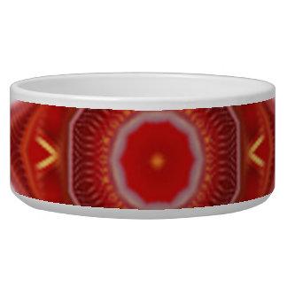 Nice circle modern pattern dog bowls