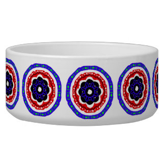 Nice circle pattern pet bowls