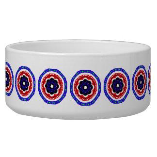 Nice circle pattern pet bowl