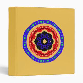 Nice circle pattern vinyl binders