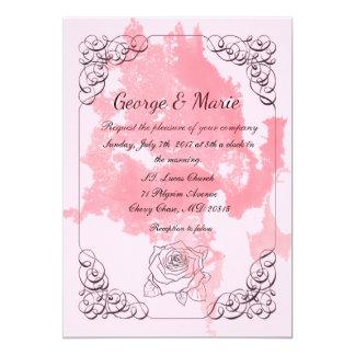 Nice classic Invite fo wedding