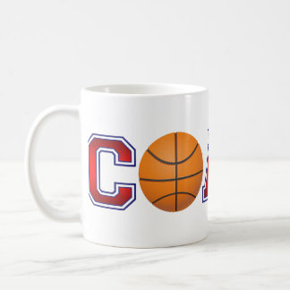 Nice Coach Basketball Insignia Coffee Mug