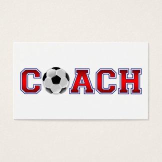 Nice Coach Soccer Insignia Business Card