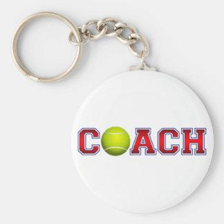 Nice Coach Tennis Insignia Keychain