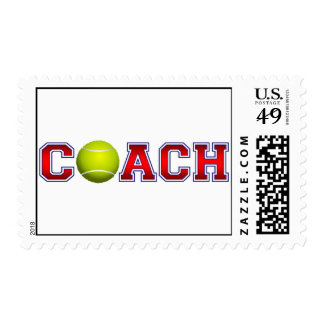 Nice Coach Tennis Insignia Postage