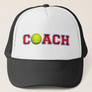 Nice Coach Tennis Insignia Trucker Hat