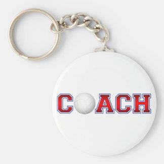 Nice Coach Volleyball Insignia 1 Keychain