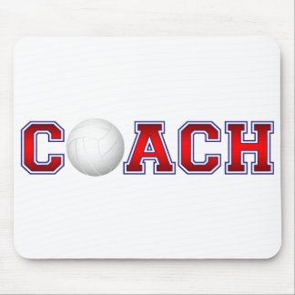 Nice Coach Volleyball Insignia 1 Mouse Pad