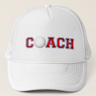 Nice Coach Volleyball Insignia 1 Trucker Hat