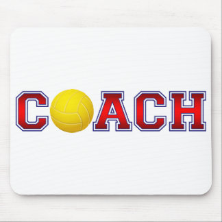 Nice Coach Volleyball Insignia 2 Mouse Pad