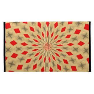 Nice colorful abstract pattern iPad folio cover
