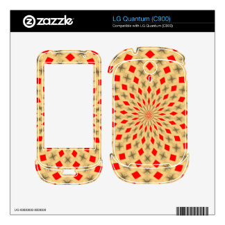 Nice Colorful abstract pattern LG Quantum Decal