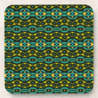 Nice colorful pattern beverage coaster