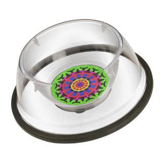 Nice colorful pattern pet bowl