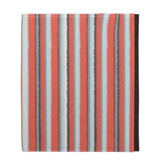 Nice Colorful Stripes Pattern iPad Folio Covers