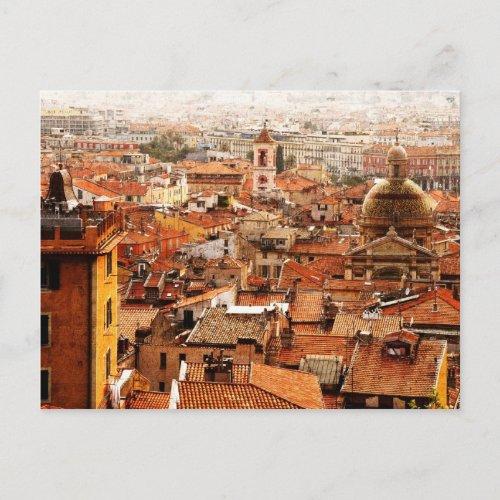 Nice, Cote d'Azur postcard postcard