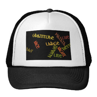 Nice Day Better Night Life Large gifts hat