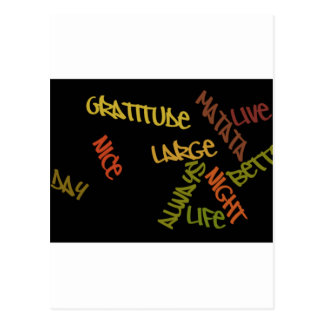 Nice Day Better Night Life Large gifts postcard