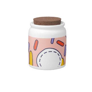 Nice Day Doughnut Candy Jar