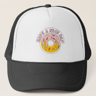 Nice Day Doughnut Trucker Hat