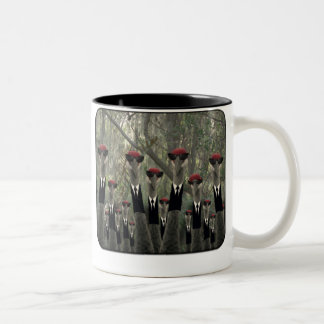 Nice Day For a Walk Two-Tone Coffee Mug