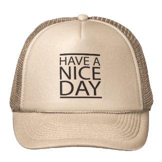 Nice Day Trucker Hat