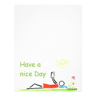nice Day Letterhead