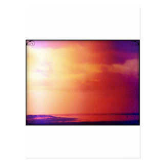 Nice Day on the beach Postcard