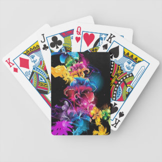 NICE DESIGN FLOWERS DECK OF CARDS