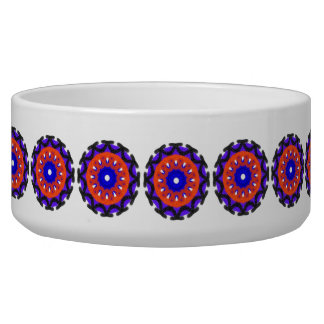 Nice different cool pattern dog food bowls