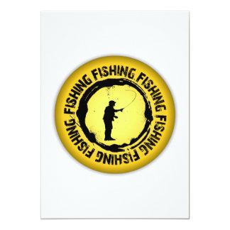 Nice Fishing Seal Card