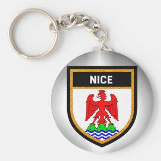 Nice Flag Keychain