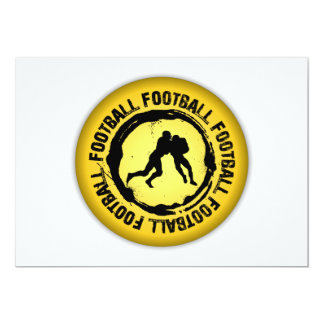 Nice Football Seal Card