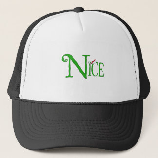 Nice for Christmas Trucker Hat