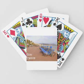 Nice France #1 Bicycle Playing Cards