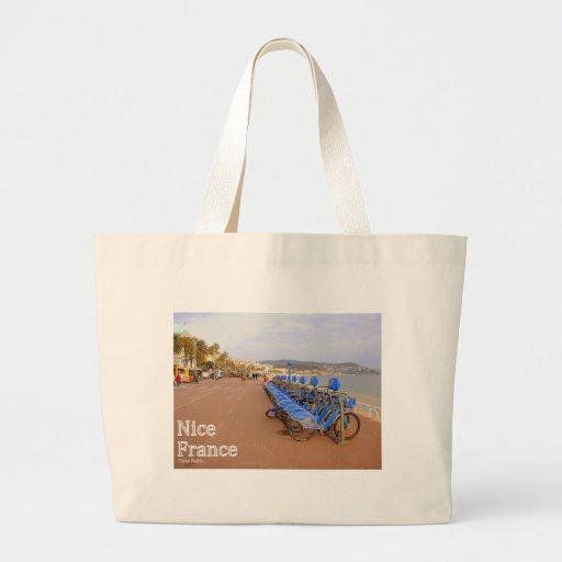 Nice France #1 Jumbo Tote Bag